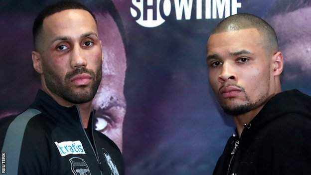 DeGale (left) has lost just once, while Eubank Jr has two losses in his career