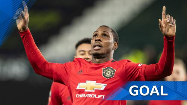 FA Cup: Odion Ighalo brushes past two defenders to double Manchester United's lead thumbnail