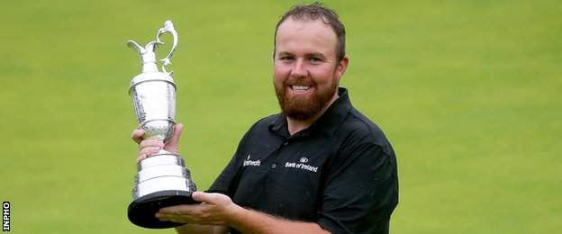 Open champion Shane Lowry