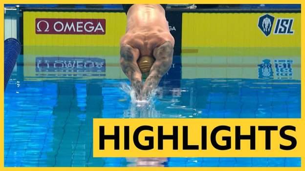 Adam Peaty wins 100m breaststroke at International Swimming League
