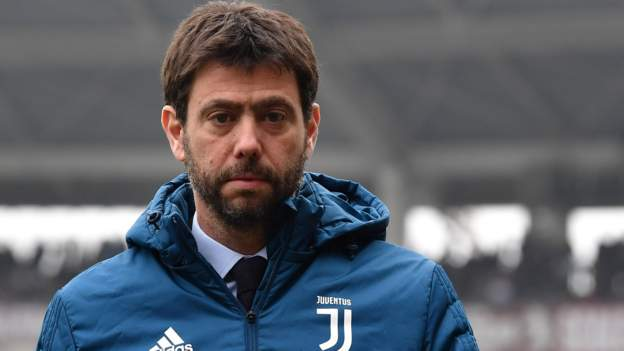 Andrea Agnelli: Juventus chairman stresses European games key for football future - bbc