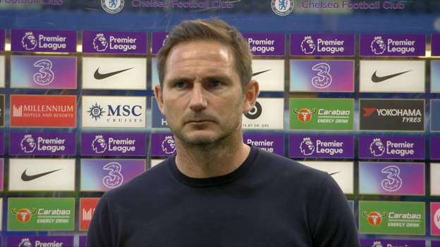 Chelsea 2-0 Liverpool: Frank Lampard says Christensen red card changed everything - bbc