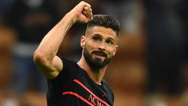 AC Milan 1-0 Torino: Olivier Giroud scores only goal to take Milan top of Serie A