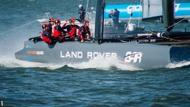Sir Ben Ainslie's Land Rover BAR team