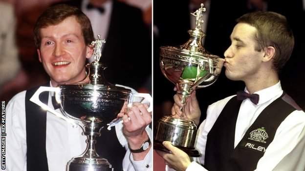Steve Davis and Stephen Hendry