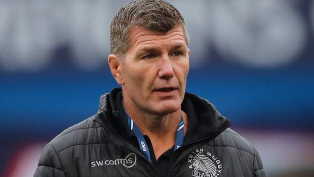 Rob Baxter: Exeter boss may have England ambition says Chiefs chairman Tony Rowe