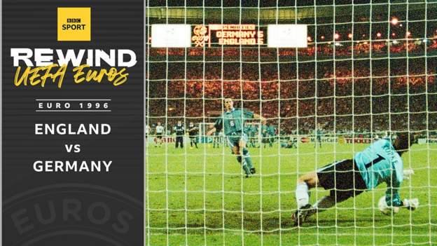 Archive: England v Germany - Euro 1996 thumbnail