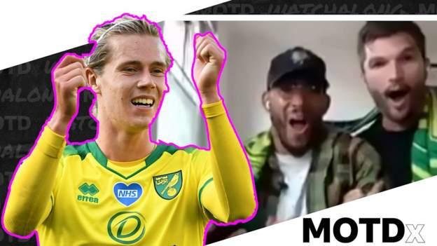 Norwich 1-2 Man Utd: MOTDx crew go wild for Todd Cantwell stunner thumbnail