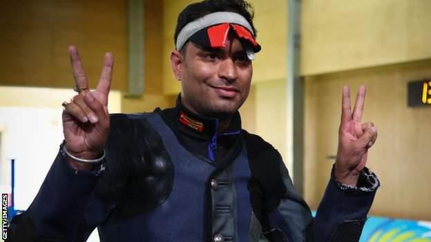 Indian shooter Sanjeev Rajput