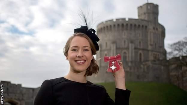 Lizzy Yarold MBE