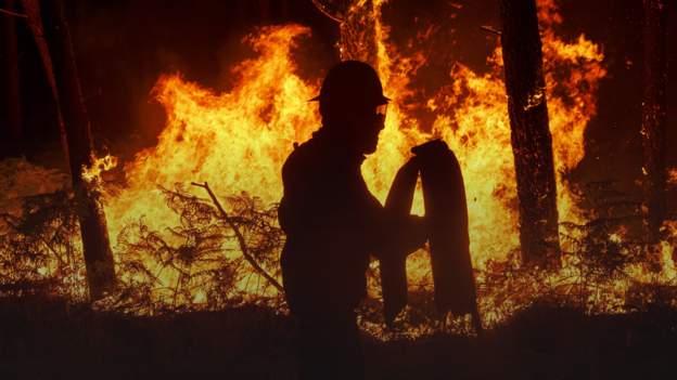 Wildfires: How Portuguese club Tondela drove through the flames