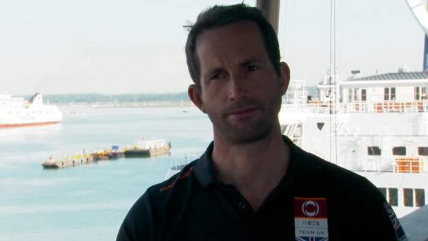 Ainslie aiming to win the 36th America's Cup