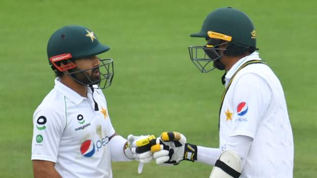 Rizwan and weather frustrate England in second Test