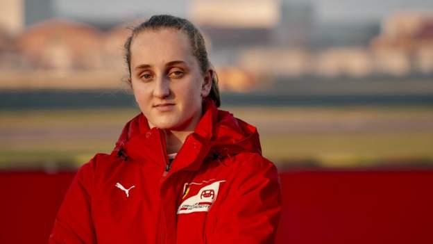 Ferrari name female academy driver