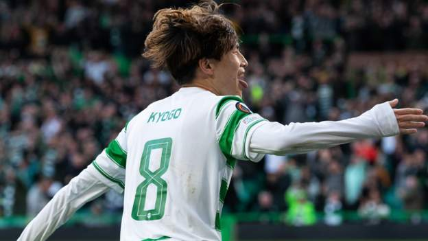 Celtic 2-0 Ferencvaros TC: Scottish side earn first Europa League group win