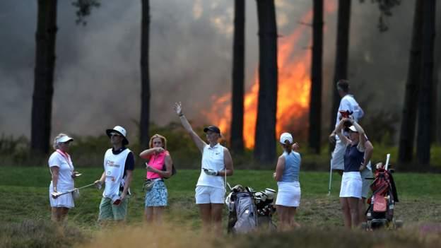 Fire sees Rose Ladies Series suspended