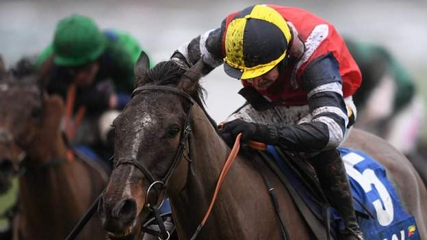 Potters Corner and jockey Jack Tudor won the real world Welsh National in 2019