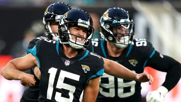 NFL London: Jacksonville Jaguars beat Miami Dolphins 23-20 in thriller