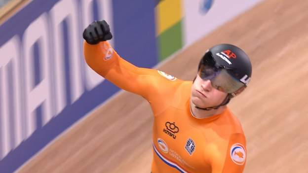 GB take team sprint silver as Netherlands set new world record