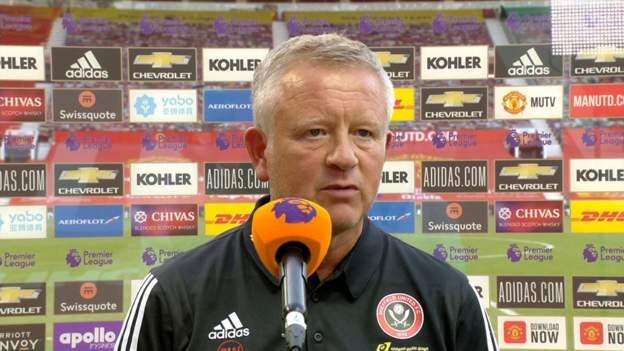 Man Utd 3-0 Sheffield Utd: Chris Wilder says his team are performing below their standards thumbnail