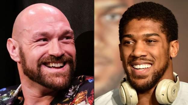 Joshua v Fury fight 'realistic' for February, says Eddie Hearn