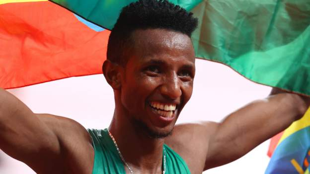 Tokyo Olympics: Ethiopia's Selemon Barega wins first track gold