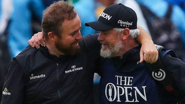 Lowry hails impact of caddie Martin