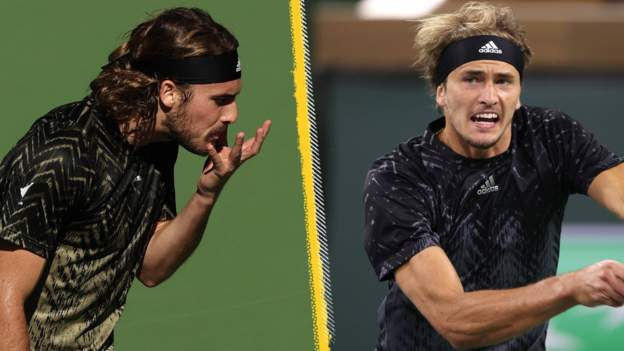 Tsitsipas and Zverev out at Indian Wells