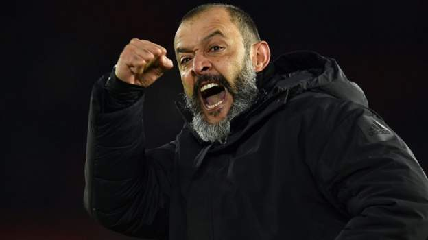 Nuno proud of Wolves' 'incredible character' in comeback win