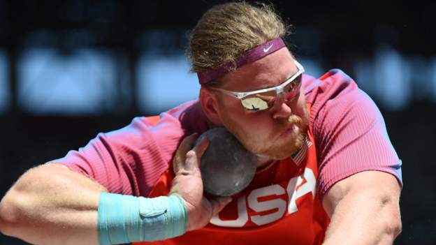 Tokyo Olympics: American Ryan Crouser pays tribute to grandfather with shot put gold