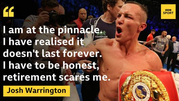 Josh Warrington has 30 wins from 30 fights during 11 years in professional boxing