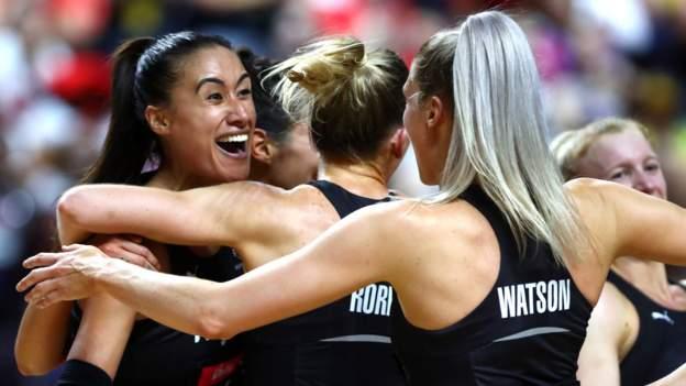 New Zealand win Netball World Cup
