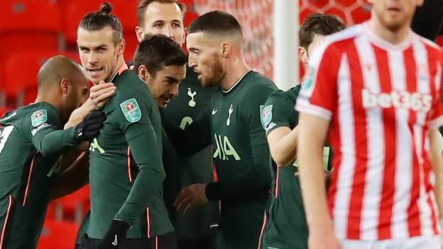 Stoke City 1-3 Tottenham Hotspur: Jose Mourinho's first win in the final