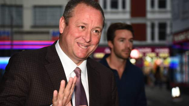 Derby County: No Mike Ashley approach say club's administrators