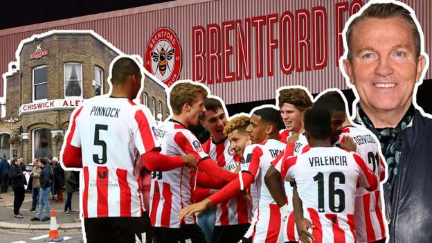 FA Cup: Pubs, Bees & Bradley Walsh - Brentford FC in 2 minutes - bbc