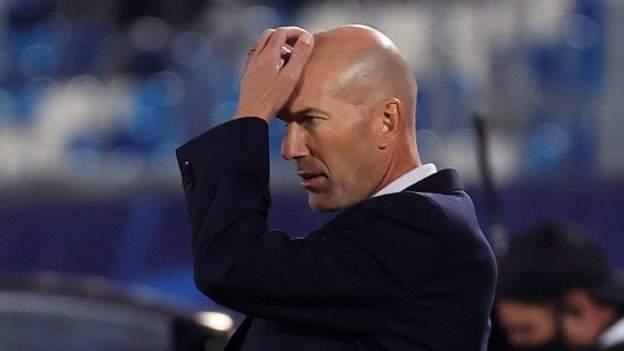 Real Madrid 2-3 Shakhtar Donetsk: Zinedine Zidane