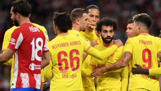 Salah stars as Liverpool beat 10-man Atletico