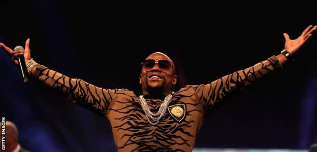 Floyd Mayweather, according to Forbes, earned $275m (£210m) from his fight against Conor McGregor in 2017