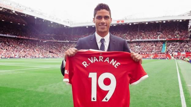 Raphael Varane: Manchester United sign France defender on four-year deal