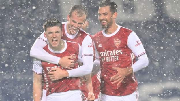 Arsenal see off Baggies in ruthless display