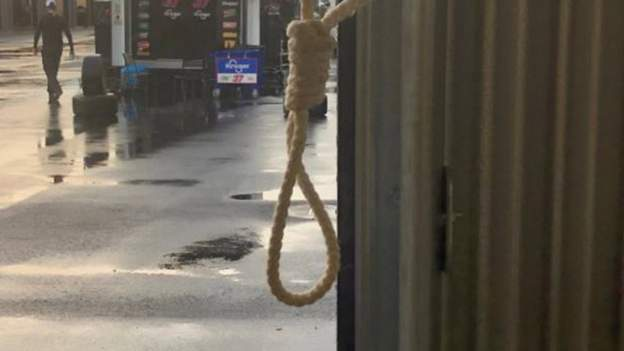 Nascar releases picture of 'noose' present in storage thumbnail