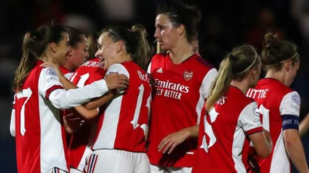 Arsenal Wanita 4-0 Hoffenheim Wanita: Peringkat Tobin Heath ketika Arsenal menduduki Perserikatan Champions thumbnail