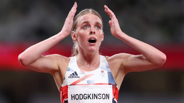 Tokyo Olympics: GB's Keely Hodgkinson wins silver behind USA's Athing Mu