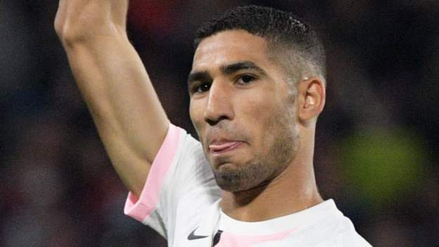 Metz 1-2 Paris Saint Germain: Achraf Hakimi scores dramatic late winner to maintain winning start