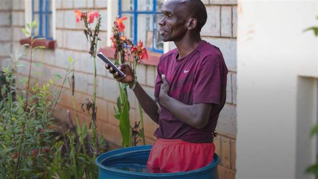 Eliud Kipchoge: The humble home life in rural Kenya behind remarkable athletic success
