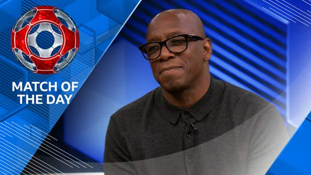Match of the Day: How Ian Wright beats Jamie Vardy, matches Willian, but loses out to Bukayo Saka - bbc