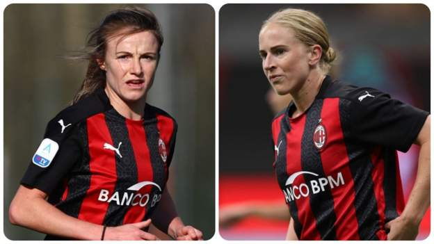 AC Milan women: Natasha Dowie & Christy Grimshaw making a mark in Italy - bbc