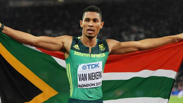 Wayde van Niekerk wins on international return saying he 'almost forgot how to race' thumbnail