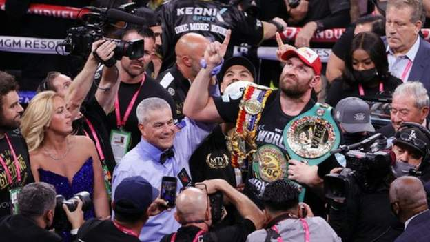 Tyson Fury says he is 'greatest heavyweight of my era' after beating Deontay Wilder