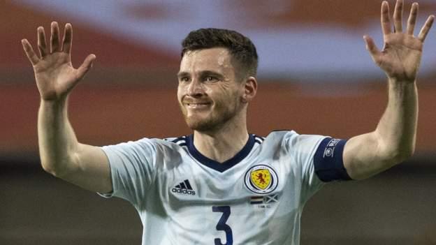Skotlandia v Republik Ceko: Robertson memberi tahu rekan satu tim untuk membentuk mereka berada di panggung yang cukup besar thumbnail
